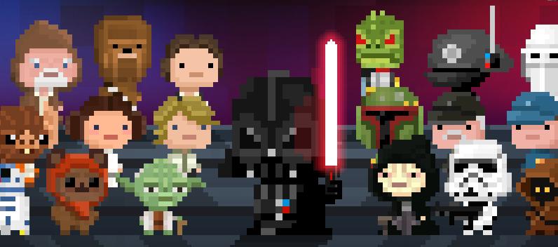 Personajes Tiny Death Star