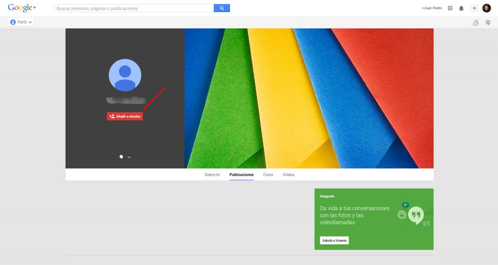 agregar gente google+