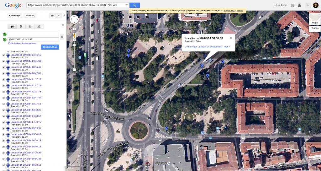 Zoom ubicaciones